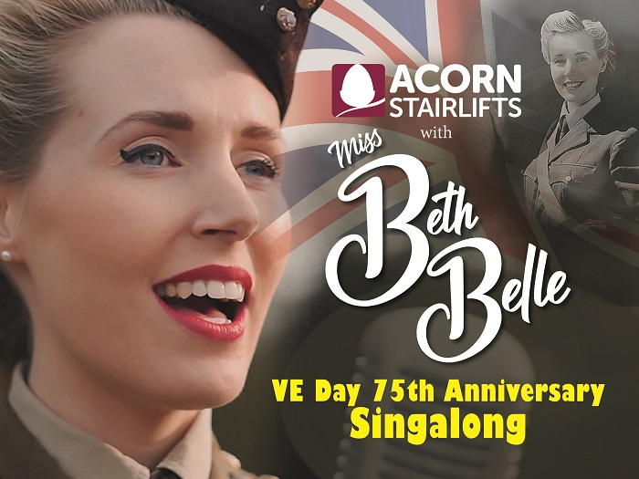 Here's how to watch our VE Day 75 Singalong